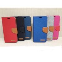 Flipcase Canvas Diary xiaumi Minot Pro /mi note bambu sarung dompet