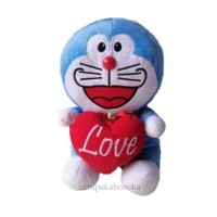 boneka Doraemon love L
