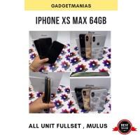 Iphone XS MAX 64gb original second fullset