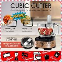 Signora PRO Food Processor W 2 Cubic Cutter| blender juicer portable