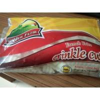 Kentang CRINKLE CUT 500Gr GOLDEN FARM French Fries Frozen Potatoes