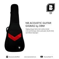 NB Acoustic Jumbo Guitar Gigbag by DBM