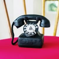 Kolepon | pajangan hiasan meja telepon unik vintage shabby dekorasi