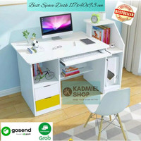 Best Space Desk (Meja Kerja Minimalis Multifungsi) - Putih
