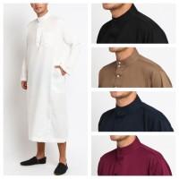 SALMAN Jubah Gamis Pakaian Gamis Pria Al Isra Busana Muslim Pria