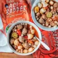 baso aci premium bapper tulang Rangu dan bapper mercon