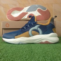 Sepatu Running Sneakers Ortuseight Titan - Navy/Tan/Offwhite
