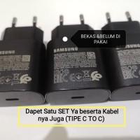 Charger Samsung NOTE 20, 20 ULTRA ORI Bawaan Hp GARANSI Keaslian