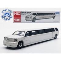 Tomica Long 136 Cadillac Escalade Miniatur Mobil limousine limosin