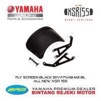 FLY SCREEN BLACK B1V-F74A8-M2-BL ALL NEW XSR 155