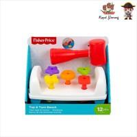 Fisher Price Tap and Turn Bench - Mainan Edukasi Anak Bayi Balita