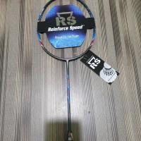 Raket Badminton RS Iso Power 222 Evo bonus tas kaos senar lengkap