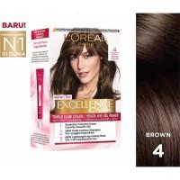 L'Oreal Paris Excellence Creme Hair Color 4 Dark Brown