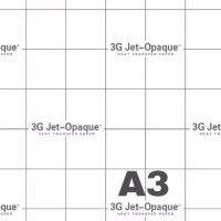 Transfer Paper 3G JET Opaque Dark A3 (USA) /Kertas Paper 3G Opaque