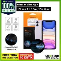 Tempered Glass iPhone 11 / Pro / Max / XS Max / XS / XR X Spigen SLIM - 11 Pro or XS