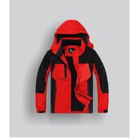jaket gunung waterproof | Adventur Red
