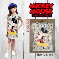 Mini Dress Anak Mickey Comic