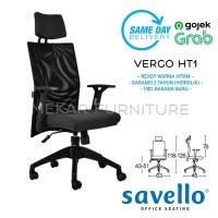 Savello Kursi Kantor Staff - Vergo HT1 - Mekar Furniture