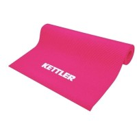 Kettler Yoga Mat 68inch X 24inch X 6mm - Pink 102-000 with Mesh Bag