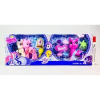 Mainan Anak Figure Little Pony 3 pcs Cutie Mark Magic