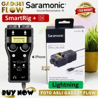 Saramonic Smartrig+ Di 2 Channel Microphone Dual to Lightning iPhone