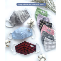 Masker Slim Fit Young Hearts ( 1 Pack = Isi 3 pcs ) YLS-00MAS2 - MIX