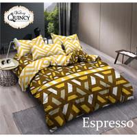 Vallery - Bed Cover King T.30 Jacguard / Aloe Vera PILIHAN