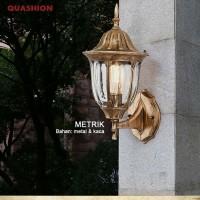 LAMPU DINDING ANTIK/ LAMPU KLASIK OUTDOOR/ LAMPU PILAR/ LAMPU TAMAN(S) - Lampu Taman, Tembaga Merah