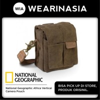 Tas selempang kamera National Geographic Africa Vertical Pouch