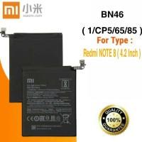 Baterai Battery Original Xiaomi Redmi Note 8 , 1/CP5/65/84 BN46 BN-46