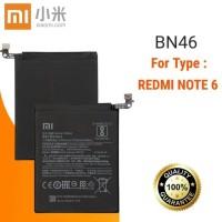 Baterai Battery Batre Original Xiaomi BN46 , BN-46 Redmi Note 6