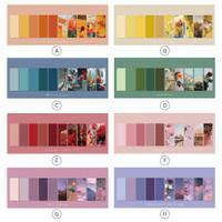 Nature Love Letter Label Memo Set / Kertas Memo / Kertas Catatan