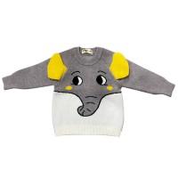 MOEJOE Cute Elephant Baby Sweater