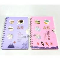 Notebook/Buku Catatan/Buku Tulis Spiral A5 WZ-25100