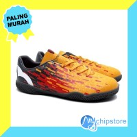 Sepatu Futsal Ortuseight Blizzard IN - Tangerine Cool Grey White