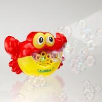 Mainan Anak Pembuat Busa Mandi Anak / Bubble Crab Musik / Bath Toy
