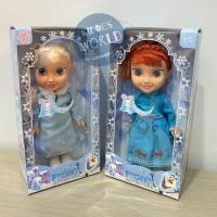 Mainan Anak Perempuan Boneka Nyanyi Frozen Anna Elsa Terbaru Doll