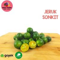 BUAH JERUK SONKIT/ LEMON CUI / JERUK KUNCI PER 500 gr