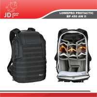 Lowepro ProTactic BP 450 AW II Camera and Laptop Backpack Black