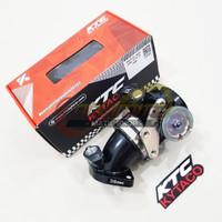 Throttle Body Pipa Gas Hawa Udara KTC Kytaco Racing 38mm Yamaha XMAX