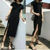 dress spandex hitam