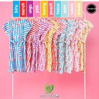 Dress Anak Ruffle Garis Blooms.id motif Flamingo - 2