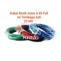 Kabel Bintik Jepang Astra 0.85mm Isi Full Roll 20 Meter
