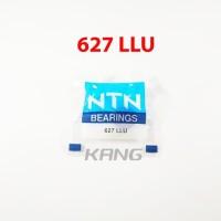 Laher Ball Bearing 627 LLU 2RS DD NTN Motor Mobil Mesin