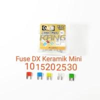 Fuse DX Sekring Sikring Tancap Tusuk Keramik Mini