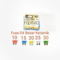 Fuse DX Sikring Sekring Tancap Tusuk Keramik Standard Besar