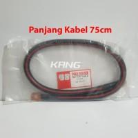 Kabel Aki Cable Accu Mobil 75cm 24 Volt