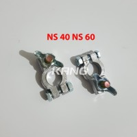 Terminal Accu Klem Kepala Aki Timah Mobil Lobang Kecil NS40 NS60