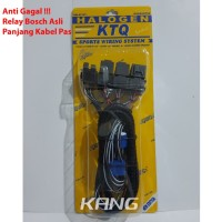 Kabel Relay Set Bosch 3 Rellay 2 Lampu H4 KRT 707 Germany