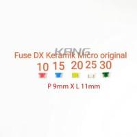 Fuse DX Sekring Sikring Tancap Tusuk Keramik Micro Mikro Innova Asli